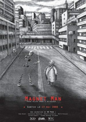 Magnet Man projet Rhizome master 1 PSM Montbéliard