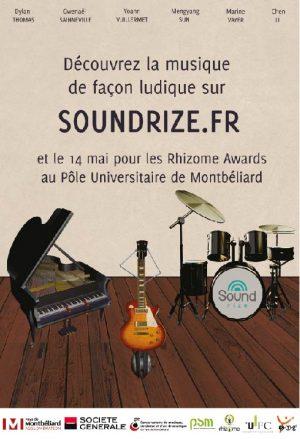 Soundrize Groov'u projet Rhizome master 1 PSM Montbéliard