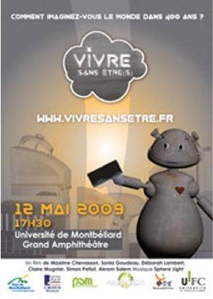 Vivre Sans Etre projet Rhizome master 1 PSM Montbéliard