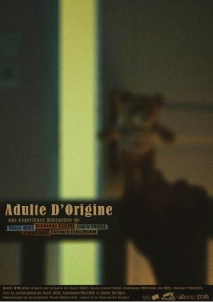 Adulte d'origine projet Rhizome master 1 PSM Montbéliard