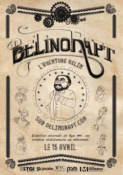 Belinorapt projet rhizome du Master 1 Produits et Services Multimédia