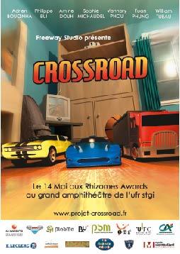 crossroad projet Rhizome master 1 PSM Montbéliard