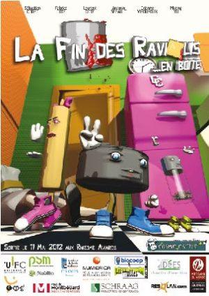 La fin des raviolis en boite projet Rhizome master 1 PSM Montbéliard