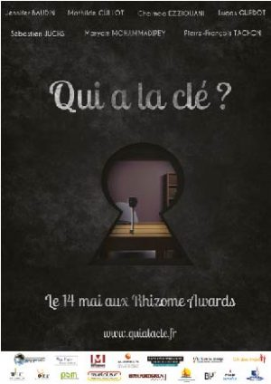 qui a la cle projet Rhizome master 1 PSM Montbéliard