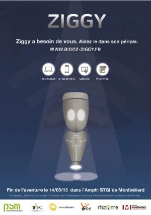ziggy projet Rhizome master 1 PSM Montbéliard